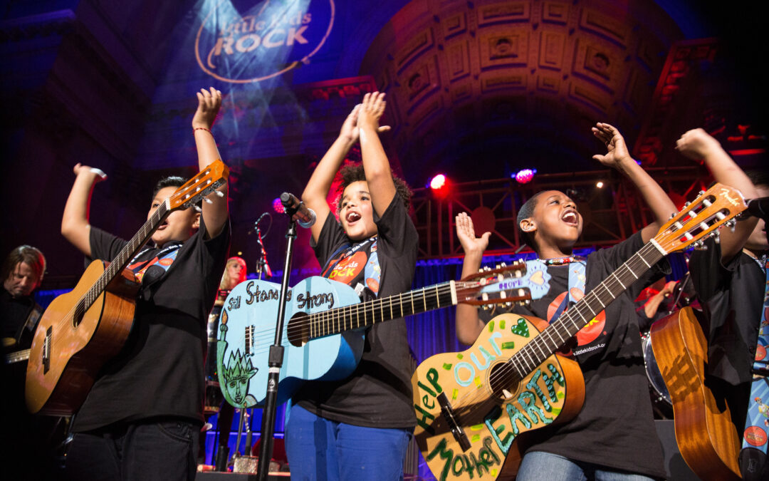 Wild Wing Cafe and Little Kids Rock Partner to Support Music Education in Schools